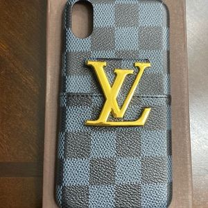 L V iPhone X/XS case